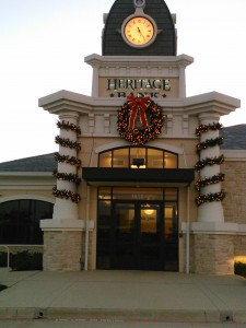 Wreaths and Garlands on commercial property HBL