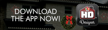 Christmas lighting design app