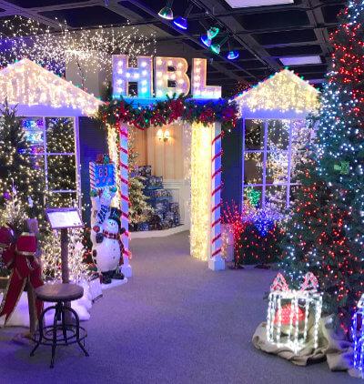 Holiday Bright Lights Atlanta Showroom